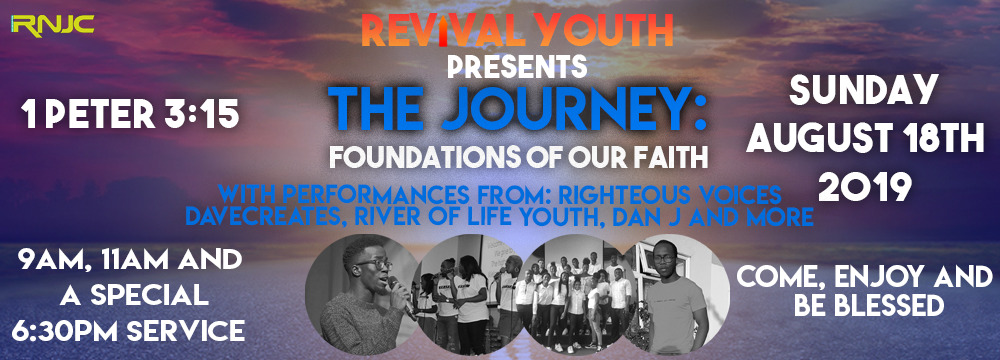 rnjc revival youth 2019 - the journey